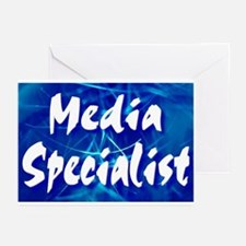 Media Specialist Web Greeting Cards (Pk of 10)