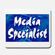 Media Specialist Web Mousepad