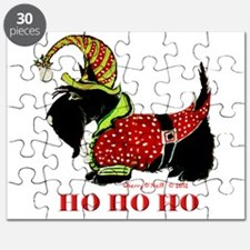 Santas Scottie Elf Puzzle
