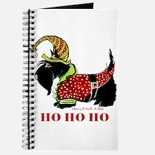 Santas Scottie Elf Journal