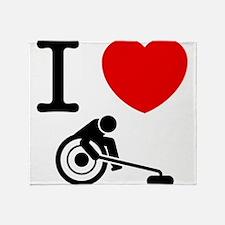 Wheelchair Curling Throw Blanket