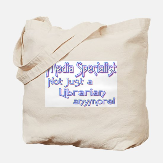 Media Specialist/Librarian Tote Bag