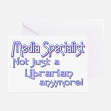 Media Specialist/Librarian Greeting Cards (Package