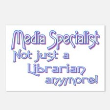 Media Specialist/Librarian Postcards (Package of 8