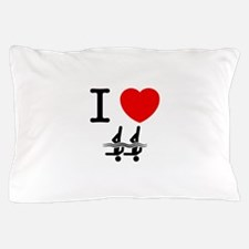 Synchronized Swimming Pillow Case
