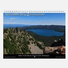 Mountain Bike Destinations Wall Calendar
