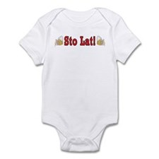 Sto Lat! With Beer Mugs Infant Bodysuit
