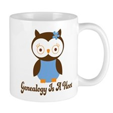 Genealogy Owl Is A Hoot Mug