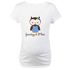 Genealogy Owl Is A Hoot Shirt