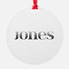 Jones Carved Metal Ornament