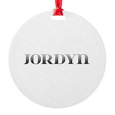 Jordyn Carved Metal Ornament