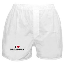 I HEART BROADWAY  Boxer Shorts