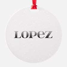 Lopez Carved Metal Ornament