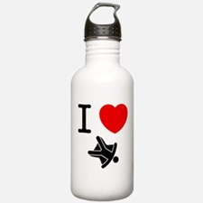 Sky Diving Water Bottle