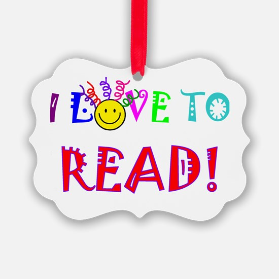 Love to Read Ornament