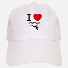 Scuba Diving Baseball Baseball Cap
