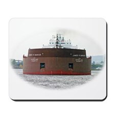 James R. Barker departs Duluth Mousepad