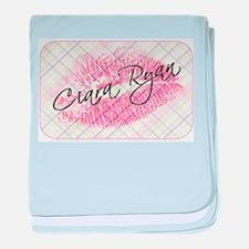 Ciara Ryan Logo baby blanket