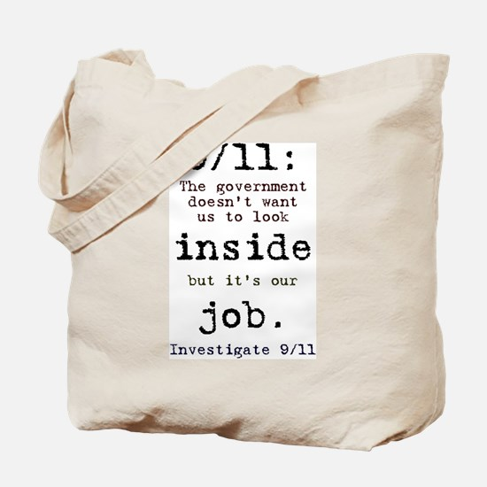 9/11: It's up to us Tote Bag
