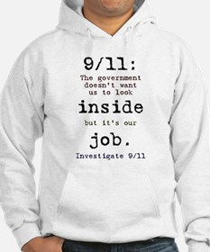 9/11: It's up to us Hoodie