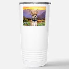 Chihuahua Meadow Travel Mug