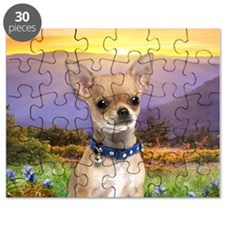 Chihuahua Meadow Puzzle