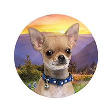 "Chihuahua Meadow 3.5"" Button"