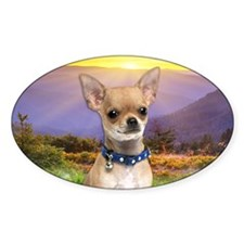 Chihuahua Meadow Decal
