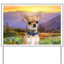 Chihuahua Meadow Yard Sign