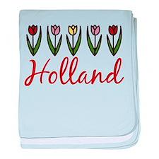 Holland baby blanket