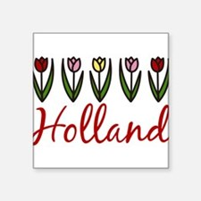 "Holland Square Sticker 3"" x 3"""