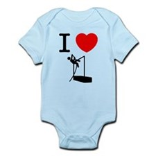 Pole Vault Infant Bodysuit