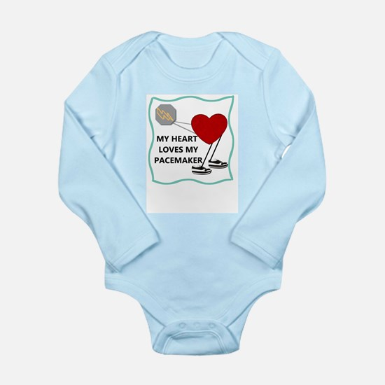 Heart Pacemaker Onesie Romper Suit
