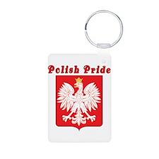 Polish Pride Eagle Keychains