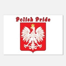 Polish Pride Eagle Postcards (Package of 8)