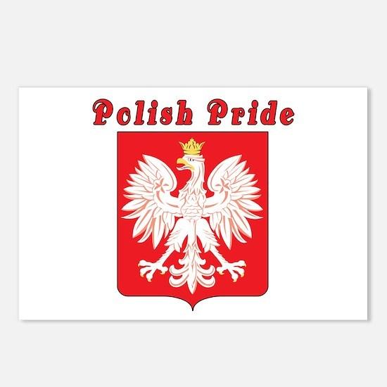 Polish Pride Eagle Postcards (Package of 8)