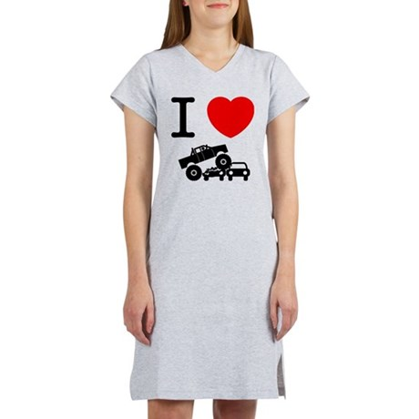 Monster Truck Women's Nightshirt