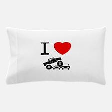 Monster Truck Pillow Case