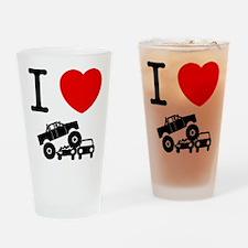 Monster Truck Drinking Glass