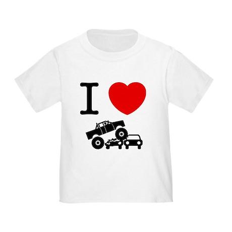 CafePress - Monster Truck Toddler T-Shirt