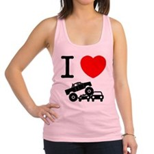 Monster Truck Racerback Tank Top