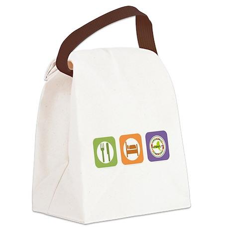 Eat Sleep NYSAFLT Canvas Lunch Bag