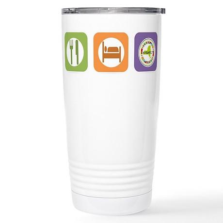 Eat Sleep NYSAFLT Stainless Steel Travel Mug