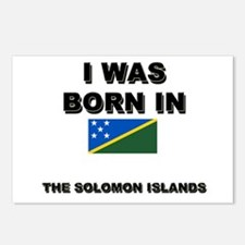 I Was Born In The Solomon Islands Postcards (Packa