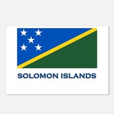 The Solomon Islands Flag Gear Postcards (Package o