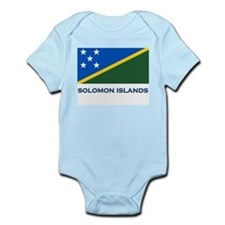 The Solomon Islands Flag Gear Infant Creeper