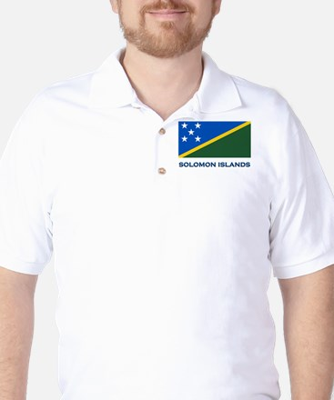 The Solomon Islands Flag Gear Golf Shirt