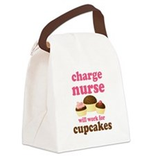 Charge Nurse Canvas Lunch Bag