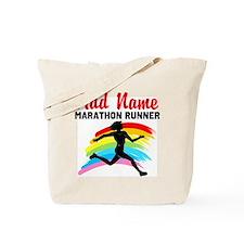 MARATHON RUNNER Tote Bag