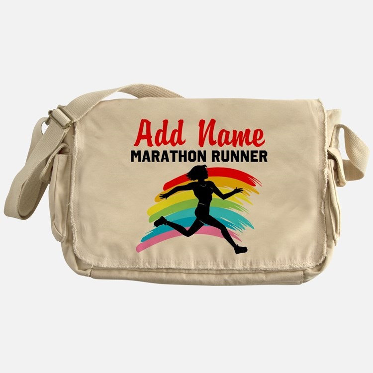 MARATHON RUNNER Messenger Bag